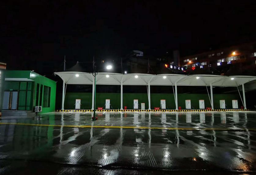吴堡县沿黄公路充电站