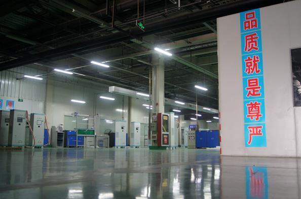 新威科技生产装备区展示