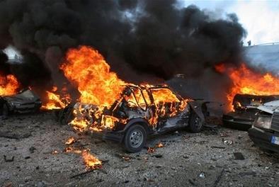 8月4日,黎巴嫩首都贝鲁特港口区发生剧烈爆炸
