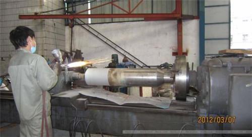 热喷涂铝涂层在钢铁件上防腐与应用