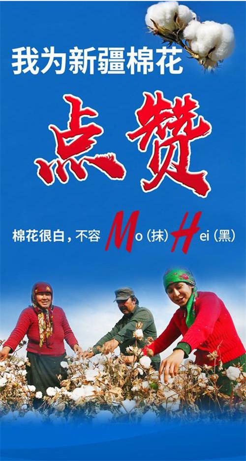 我为新疆棉花点赞!