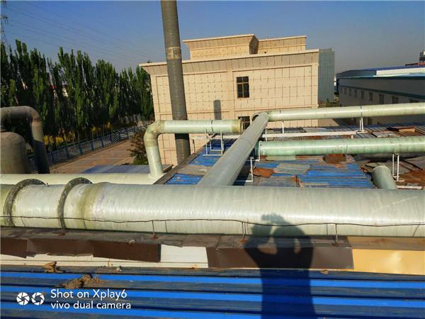 宁夏废气收集玻璃钢管道
