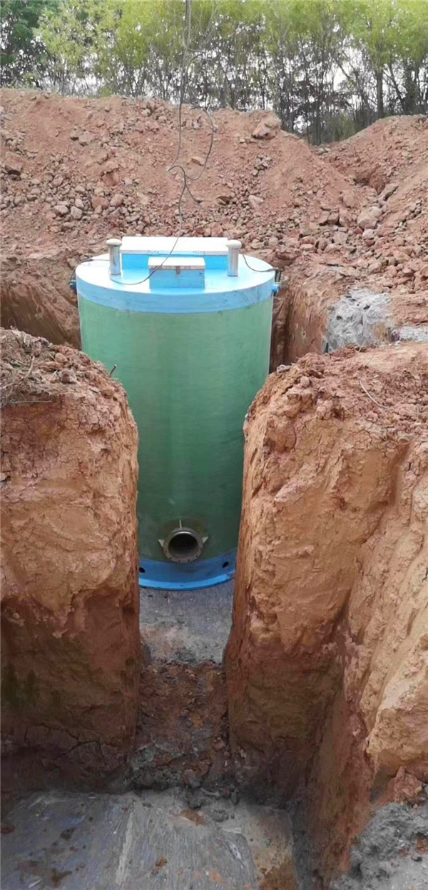宁东污水处理厂玻璃钢一体化泵站