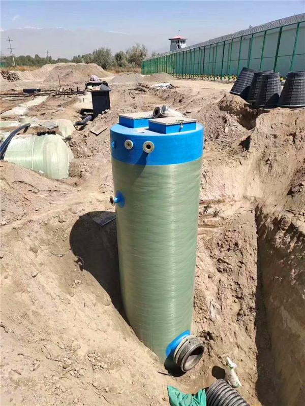 水利水电工程局玻璃钢一体化泵站