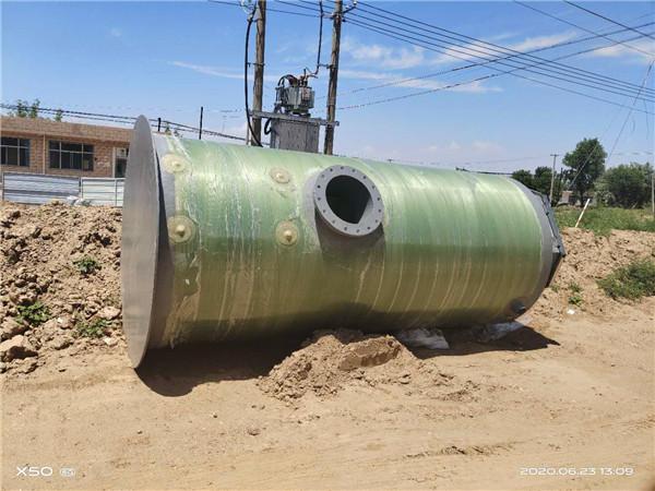 宁夏玻璃钢一体化泵站