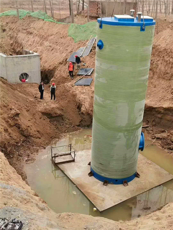 宁夏玻璃钢一体化预制泵站