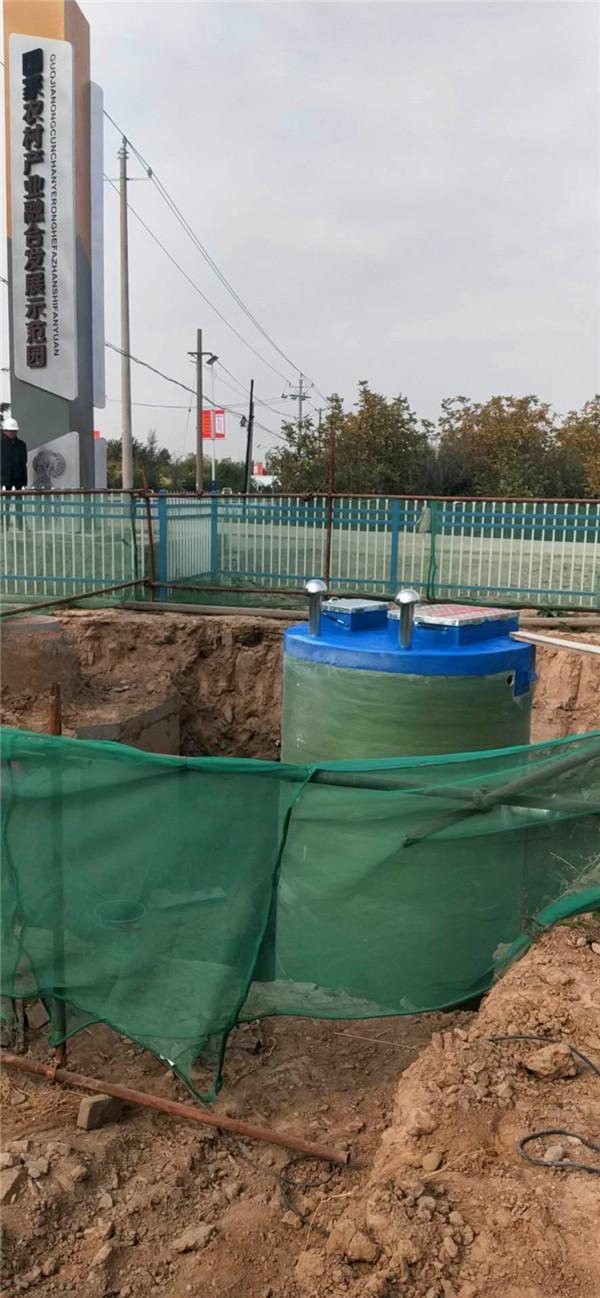 宁夏米乐体育m6一体化泵站