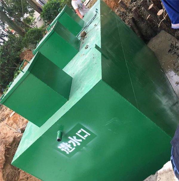 对于一体化污水处理设备中的沉淀池我们一定要及时排泥