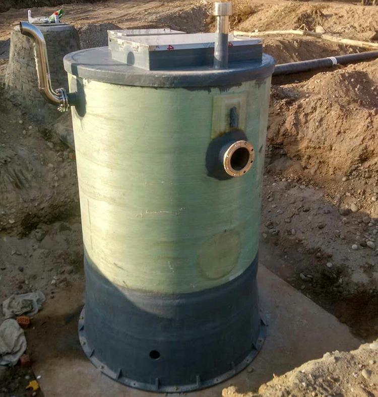 关于玻璃钢一体化泵站与传统的混凝土泵站的区别介绍