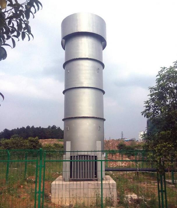 沼气火炬具有减少恶臭污染、减少温室效应的作用