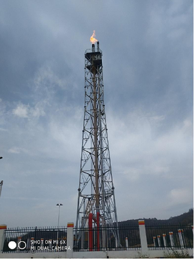 工业火炬需要的能耗低等离子焚烧器