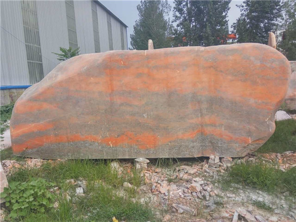 如何对河南晚霞红景观石进行清洁保养呢?保养小方法请查收