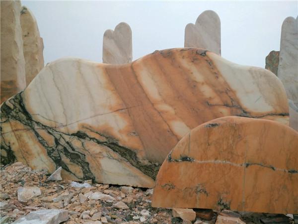 晚霞红景观石在景观设计中有哪些应用?这3点要了解