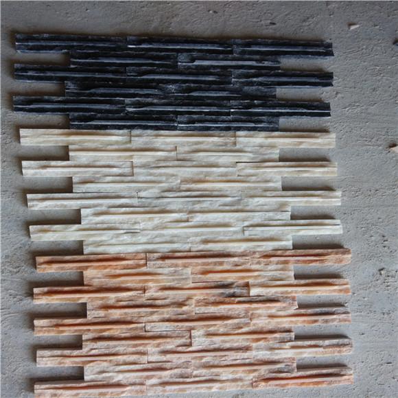 文化砖施工工艺 不规则铺贴,很有创意