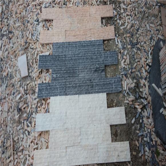 外墙文化砖施工方案 搭配后再按排列次序铺贴