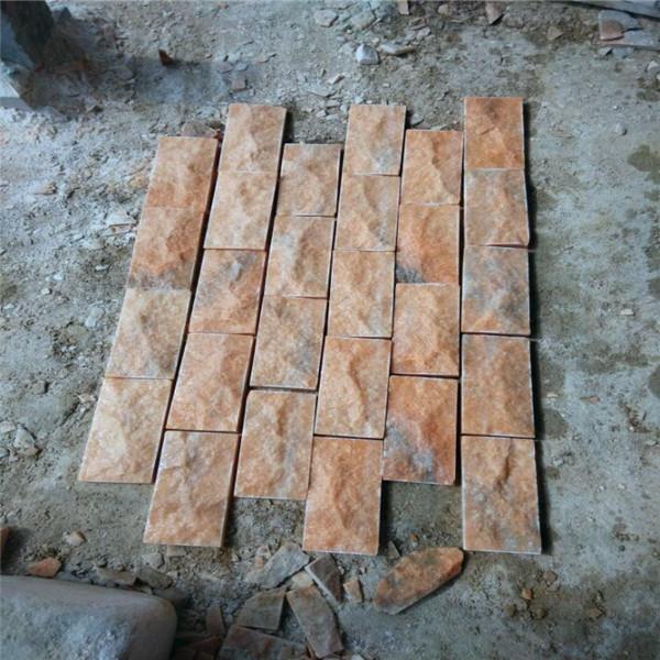 南阳凹凸蘑菇石批发 打造复古风格的良好选择
