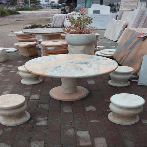南阳大理石庭院石桌价格