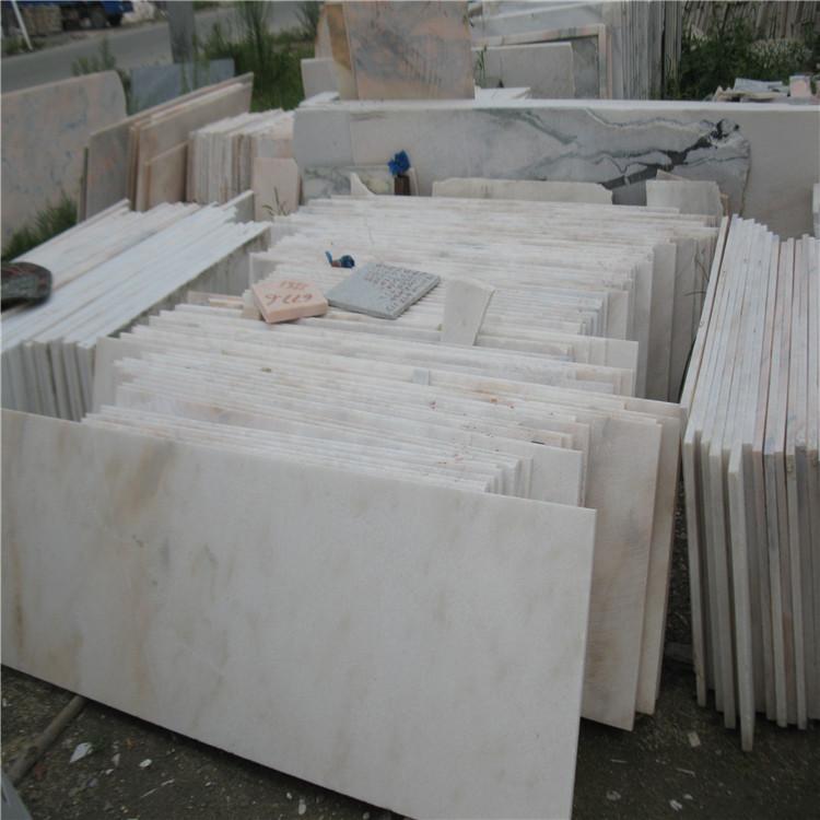 供应大理石石板 浅白色石材