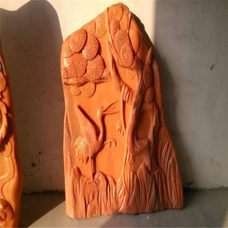 园林观赏石雕塑 石雕石画供应