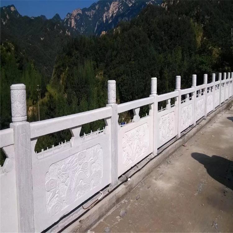 河南石雕栏板 汉白玉栏杆欧式栏杆批发