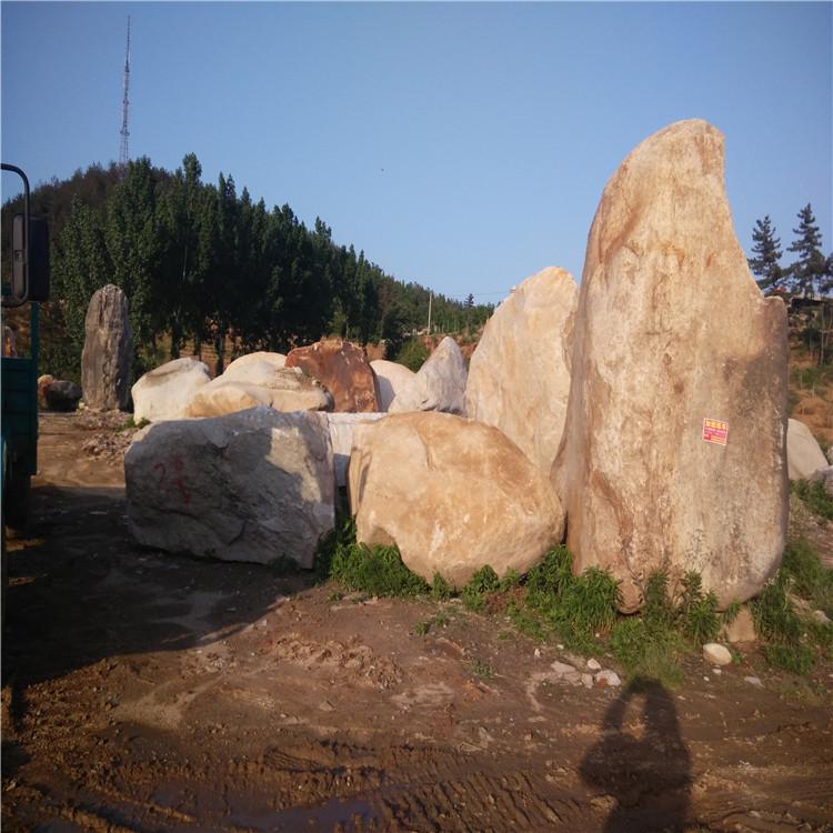 南阳园林塑石 置石批发