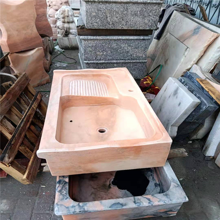 南阳供应大理石洗手池 洗脸池 石头洗脸盆