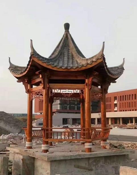 四川中式凉亭