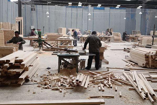 成都实木隔断厂区基地