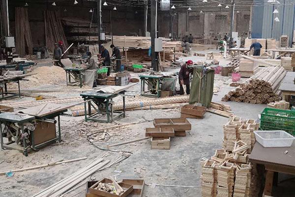绵阳实木牌匾生产厂区展示