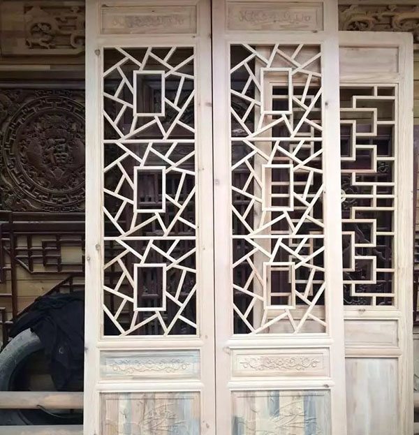 成都中式木门