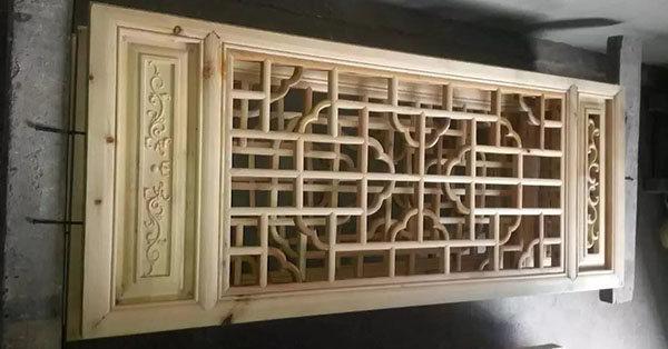 成都仿古花窗