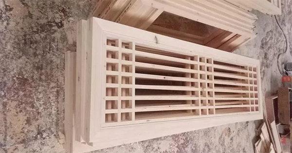 简述成都仿古花窗的施工工序