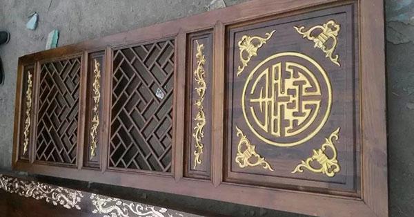 腾祥古建讲述成都仿古门窗的雕刻手法