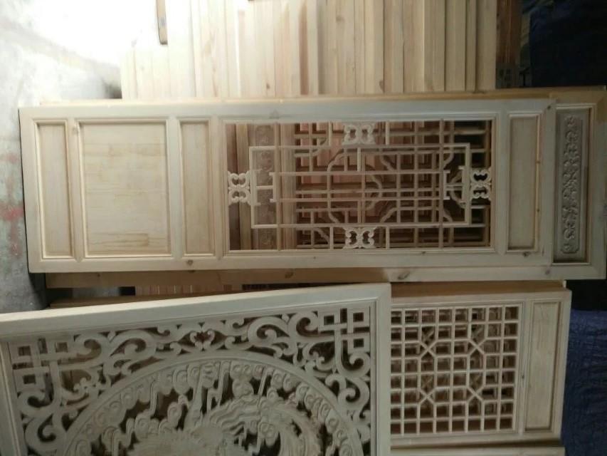 木雕实木门窗
