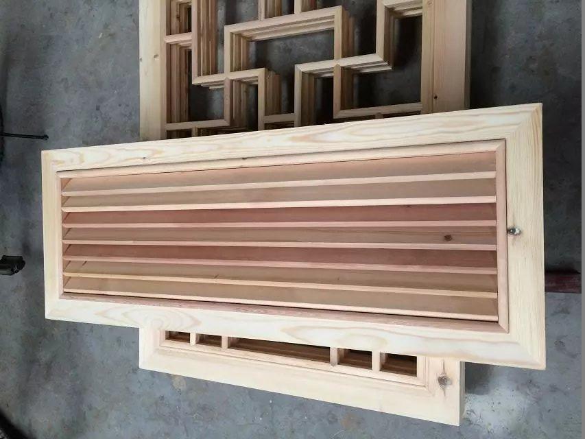 木质百叶窗