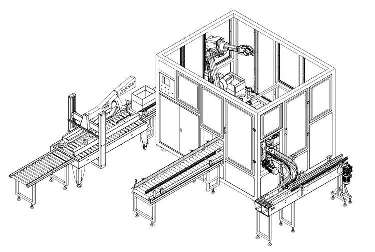 机械手装箱