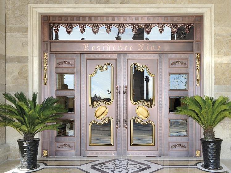 庭院铜门案例
