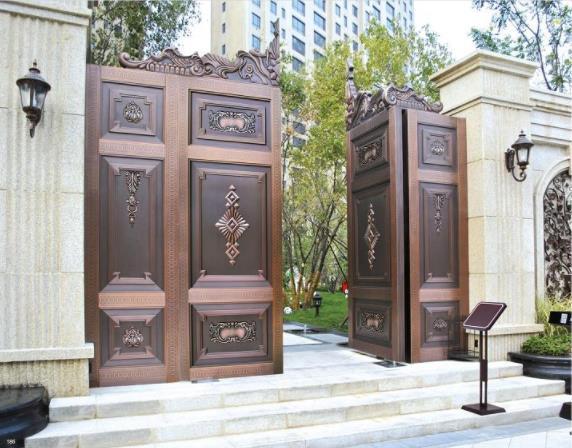 别墅铜门案例