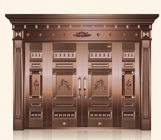 铜门如何保养维护,能延长其使用时间?
