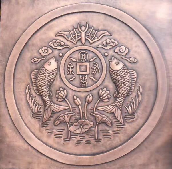 西安红铜浮雕制作