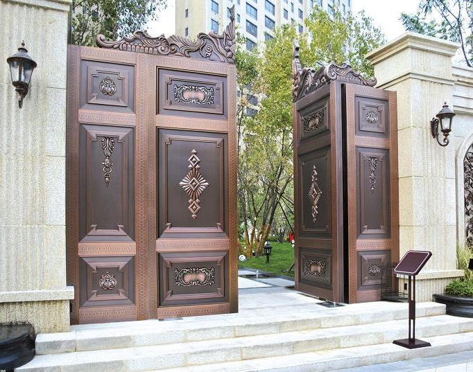 跟随西安铜门定做厂家一起来看一下西安铜门要如何安装?