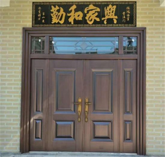 西安铜门怎么保养?