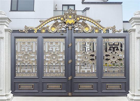 西安铝艺大门的好处和特色