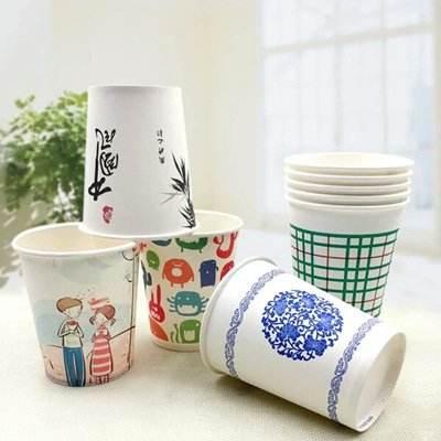 一次性纸杯的用处和印刷技术说明