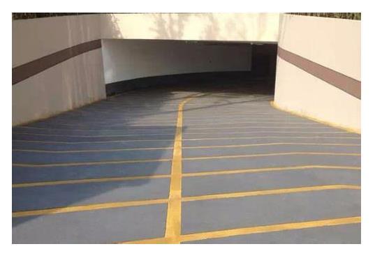 地面划线的涂料需要具备的性能优势介绍