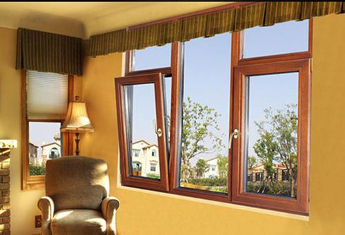 南阳铝包木窗