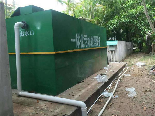 一体化污水设备安装