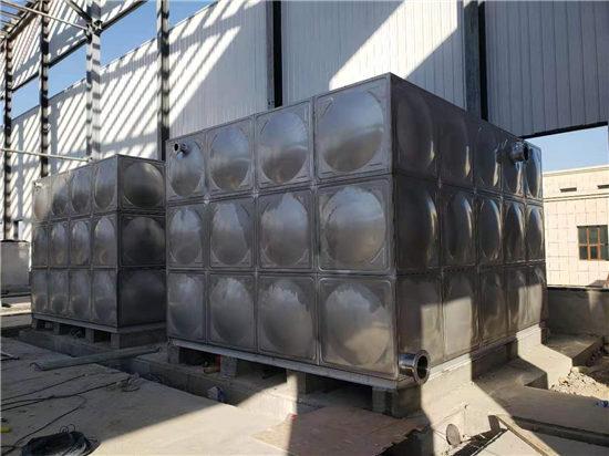 敦煌供热公司不锈钢组合水箱