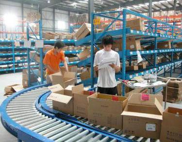鞋类生产线案例