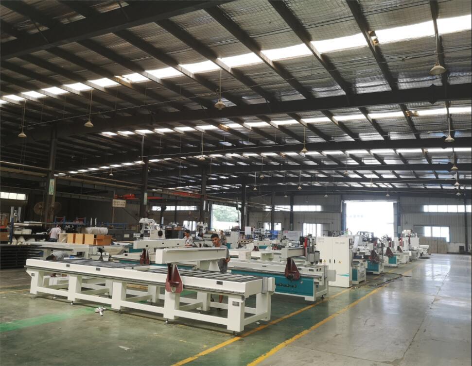 人造板生产线案例二